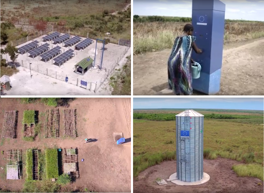 Des systèmes d'adduction d'eau potable innovants en RDC