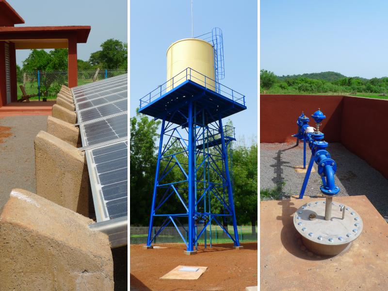 Mali : 100 000 villageois alimentés en eau potable par énergie solaire