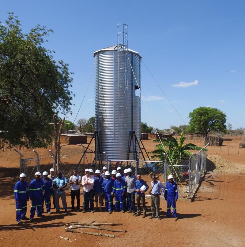 eau potable au Mozambique