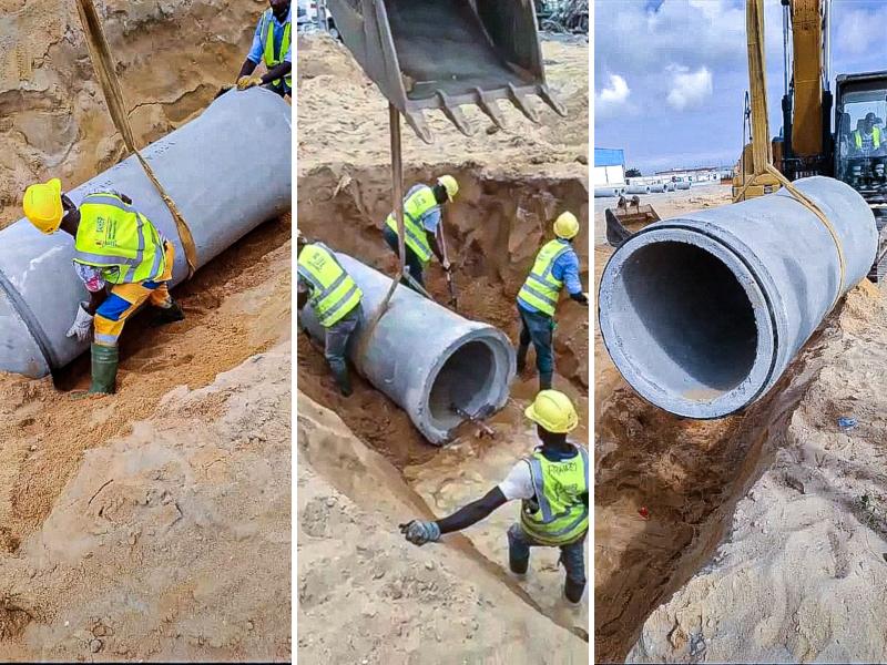 SAHER installe l'ensemble des réseaux du nouveau terminal du port d'Abidjan TERRA-2